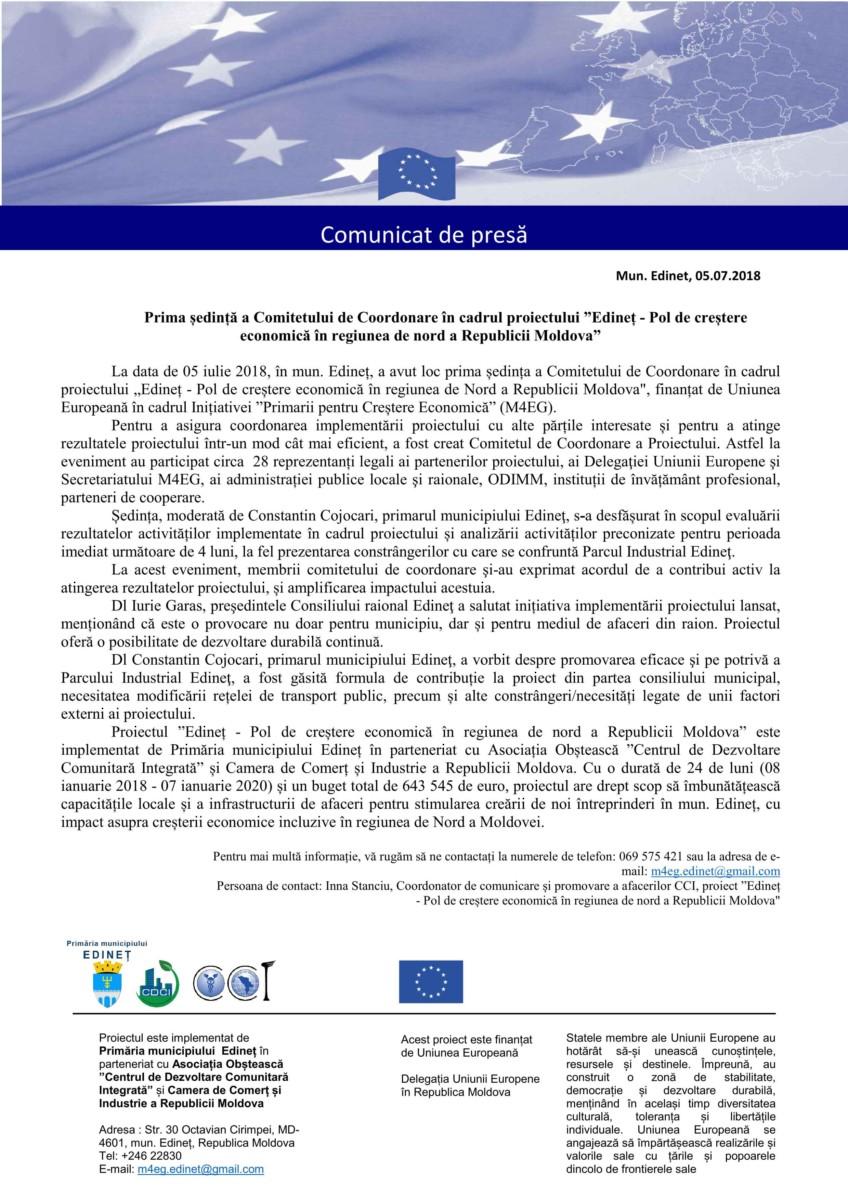 Comunicat PSC 2018-07-05