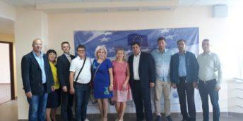 Delegaţia letonă în vizită la Edineţ