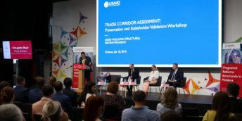 USAID провело всестороннюю оценку коммерческих коридоров Молдовы