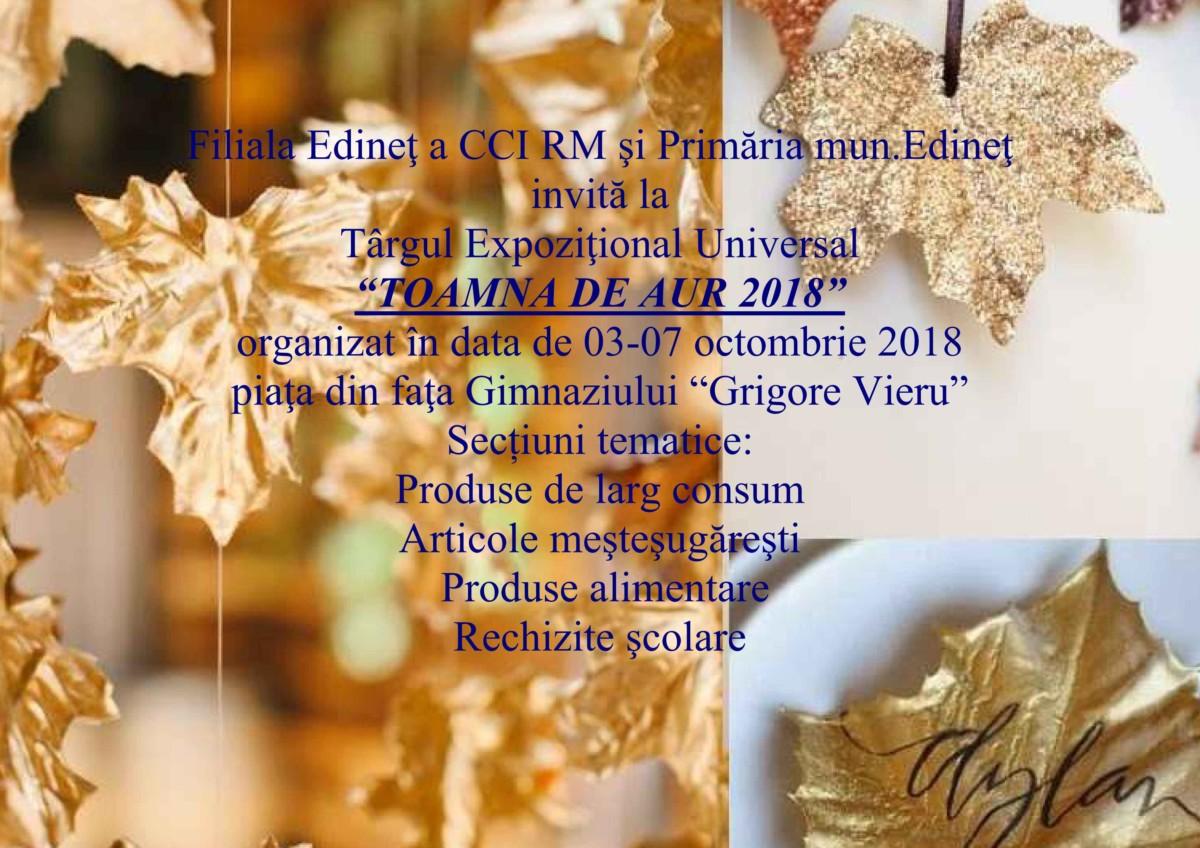 Invitatie Toamna de aur