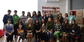 """Ghidare profesională pentru fete în STEM al doilea eveniment  """"La o cafea cu oameni de succes"""""""