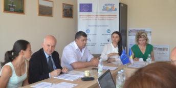 """A III-a ședință a Comitetului de Coordonare al proiectului """"Edineț – Pol de creștere economică în regiunea de Nord a Republicii Moldova"""""""