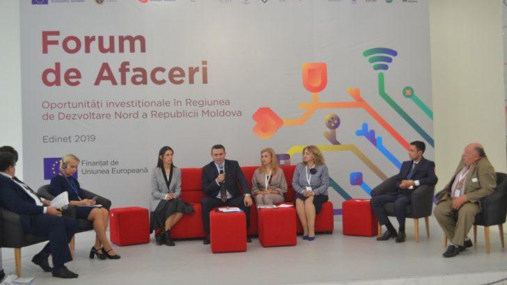 """Comunicat de presă – Forum de Afaceri """"Oportunități investiționale în Regiunea de Dezvoltare Nord a Republicii Moldova"""""""