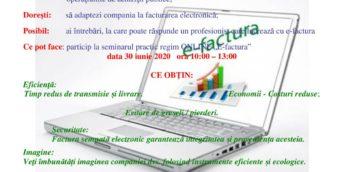 """Seminar practic regim online """"E-factura"""""""